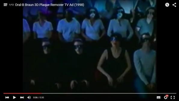 Oral-B  Braun 3 Plaque Remover TV Ad 1998