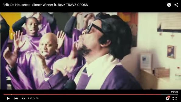 Felix Da Housecat - Sinner Winner ft. Revz TRAVZ CROSS.